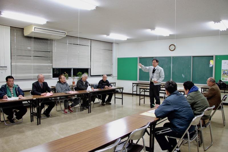 若き生産者2人がメンバーに 2月栽培講習会